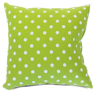 Telly Polyester/Polyester blend Small Throw Pillow Size: Large, Color: Lime