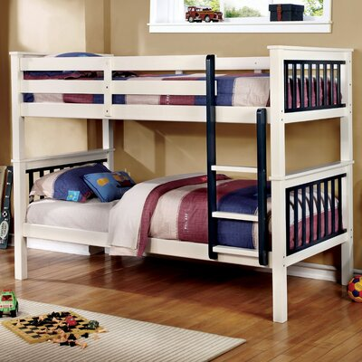 Karly Twin Bunk Bed Color: Blue