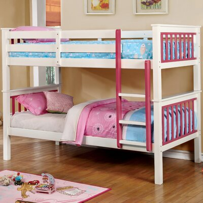 Karly Twin Bunk Bed Color: Pink