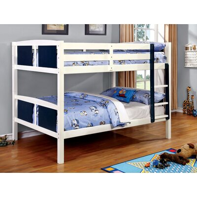 Rachel Bunk Bed Size: Full/Full, Color: Blue