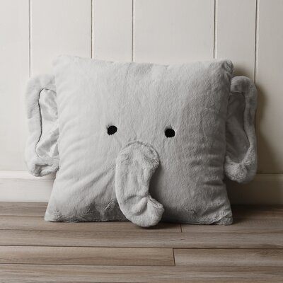 Henry Elephant Plush Throw Pillow