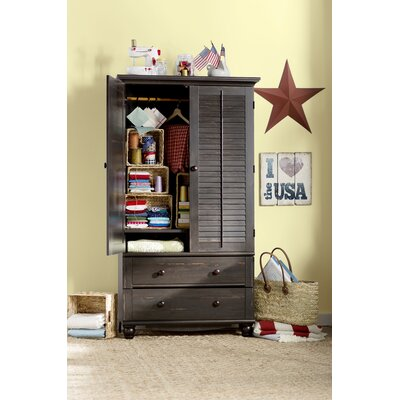 Truman Armoire Finish: Distressed Antiqued Paint