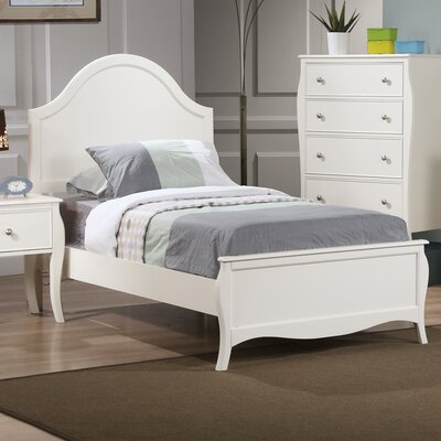 Chloe Panel Bed Size: Twin