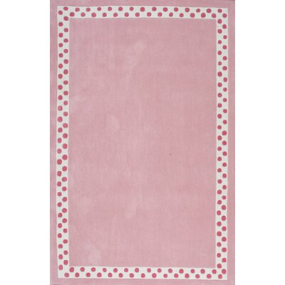 Audrey Pink Area Rug Rug Size: Rectangle 36 x 56
