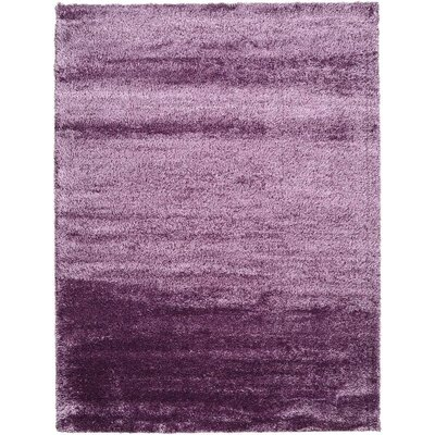 Evelyn Fig Purple Area Rug Rug Size: 9 x 12