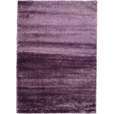Evelyn Fig Purple Area Rug Rug Size: 7 x 10