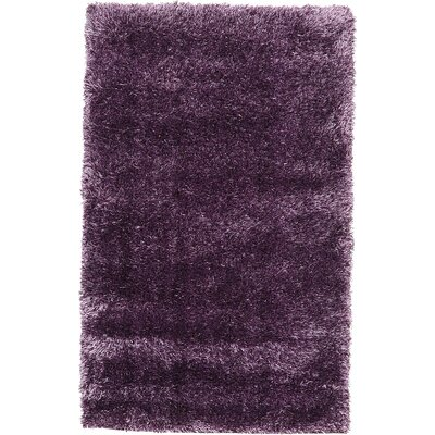 Evelyn Fig Purple Area Rug Rug Size: 33 x 53