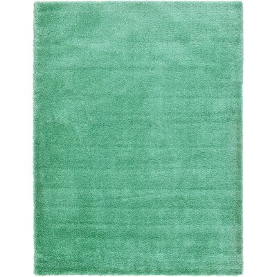 Evelyn Feldspar Green Area Rug Rug Size: 9 x 12