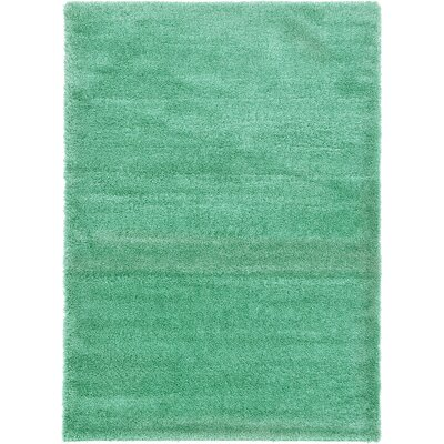 Evelyn Feldspar Green Area Rug Rug Size: 7 x 10