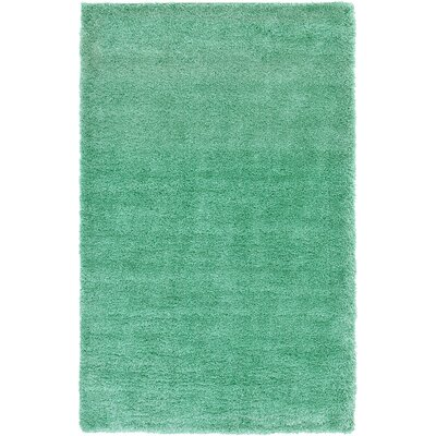 Evelyn Feldspar Green Area Rug Rug Size: 5 x 8