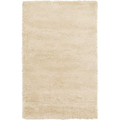 Evelyn Ivory Area Rug Rug Size: 33 x 53