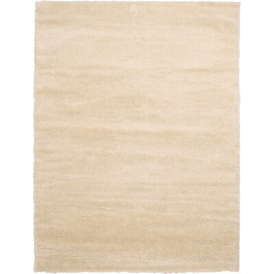 Evelyn Ivory Area Rug Rug Size: 9 x 12