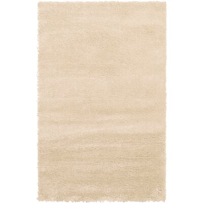 Evelyn Ivory Area Rug Rug Size: 5 x 8