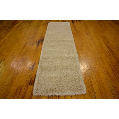 Evelyn Ivory Area Rug Rug Size: Runner 27 x 10