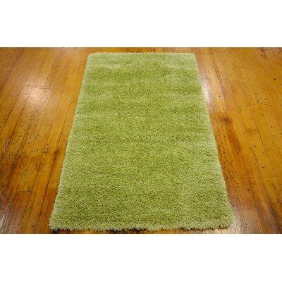 Evelyn Cedar Green Area Rug Rug Size: 33 x 53