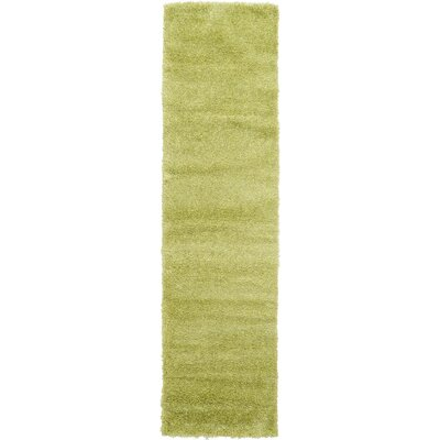 Evelyn Cedar Green Area Rug Rug Size: Runner 27 x 10