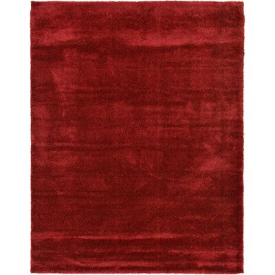 Evelyn Red Area Rug Rug Size: Rectangle 12 x 159
