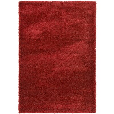Evelyn Red Area Rug Rug Size: 6 x 9