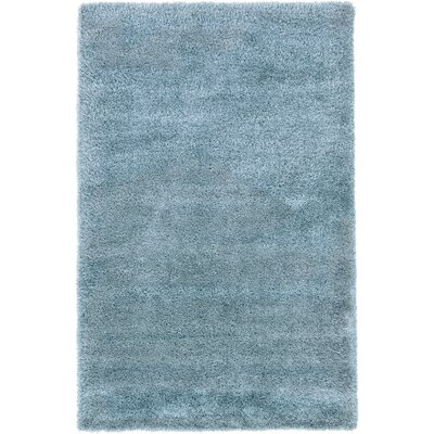 Evelyn Light Blue Area Rug Rug Size: 5 x 8