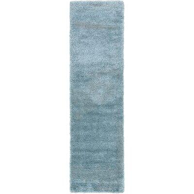Evelyn Light Blue Area Rug Rug Size: Runner 27 x 10