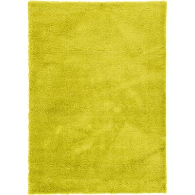 Evelyn Yellow Area Rug Rug Size: 7 x 10