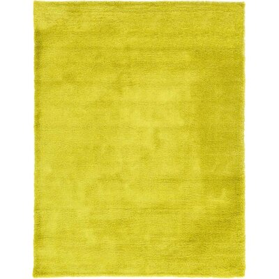 Evelyn Yellow Area Rug Rug Size: 9 x 12