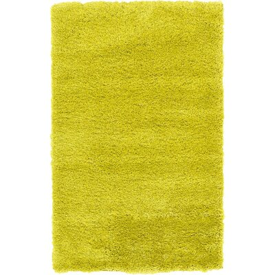 Evelyn Yellow Area Rug Rug Size: 33 x 53