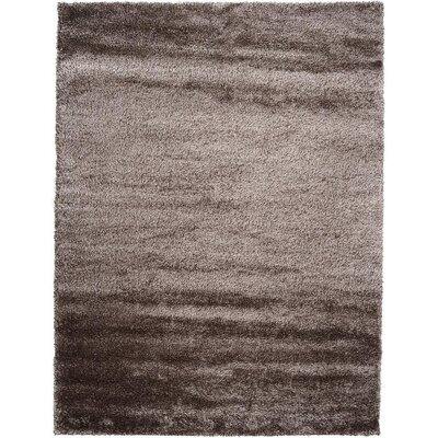 Evelyn Pinecone Brown Area Rug Rug Size: 9 x 12