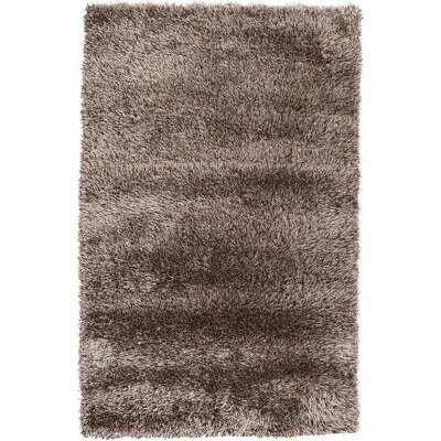 Evelyn Pinecone Brown Area Rug Rug Size: 33 x 53