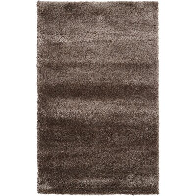 Evelyn Pinecone Brown Area Rug Rug Size: 5 x 8