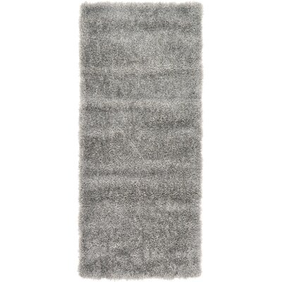 Evelyn Gray Area Rug Rug Size: Runner 27 x 6