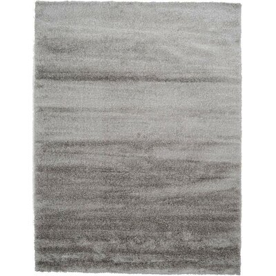 Evelyn Gray Area Rug Rug Size: 9 x 12