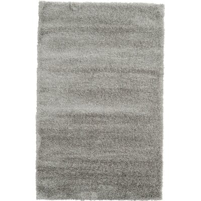 Evelyn Gray Area Rug Rug Size: 5 x 8