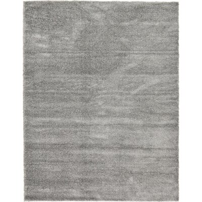 Evelyn Gray Area Rug Rug Size: Rectangle 10 x 13