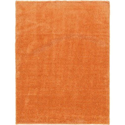 Evelyn Orange Area Rug Rug Size: Rectangle 9 x 12