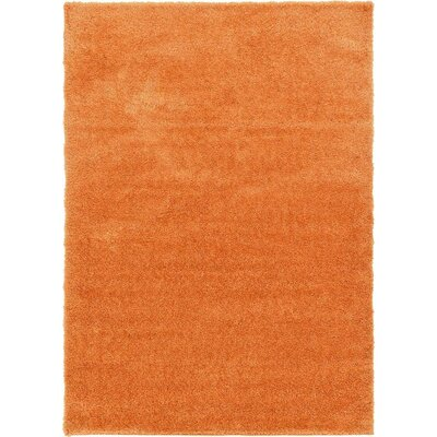 Evelyn Orange Area Rug Rug Size: 7 x 10