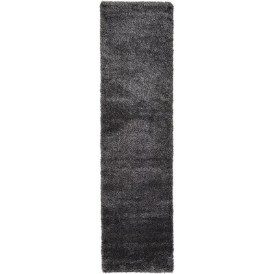 Evelyn Black Area Rug Rug Size: Runner 27 x 6