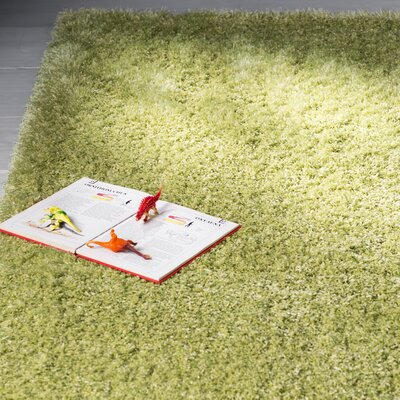 Evelyn Cedar Green Area Rug Rug Size: 6 x 9