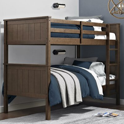 Lila Over Lila Standard Bunk Bed