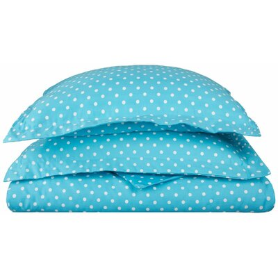 Marshall Duvet Cover Set Color: Aqua, Size: King/California King