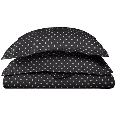 Marshall Duvet Cover Set Size: Full/Queen, Color: Black