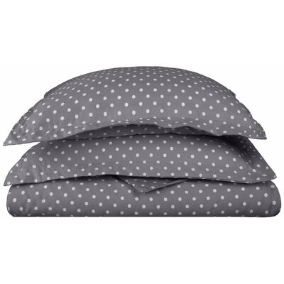 Marshall Duvet Cover Set Color: Gray, Size: King/California King
