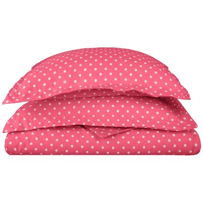 Marshall Duvet Cover Set Color: Pink, Size: King/California King