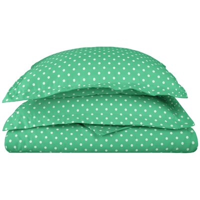 Marshall Duvet Cover Set Color: Sage, Size: Twin