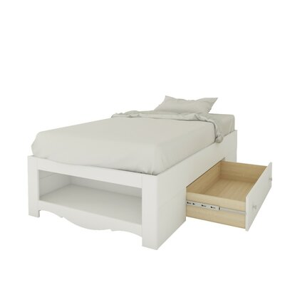 Francis Mates Bed with Storage Size: Twin