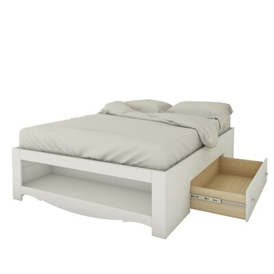 Francis Mates Bed with Storage Size: Full