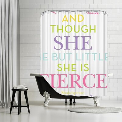 Tris Shower Curtain Color: Multi
