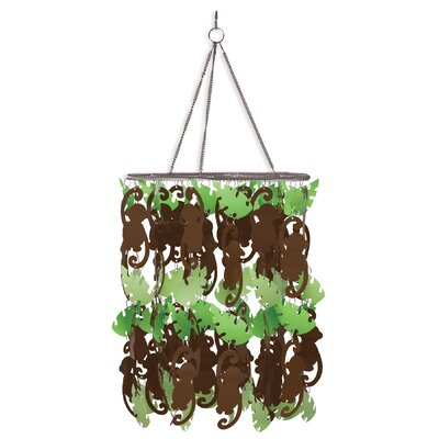 Monkeying Around 1-Light Mini Chandelier