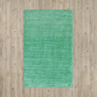 Evelyn Feldspar Green Area Rug Rug Size: 6 x 9