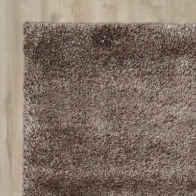Evelyn Pinecone Brown Area Rug Rug Size: 8 x 11